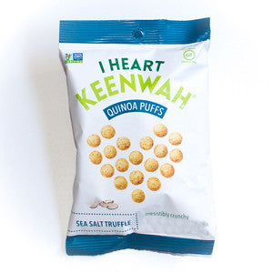 I Heart Keenwah - Sea Salt Truffle Puffs