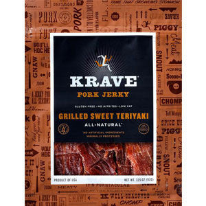 Krave Grilled Sweet Teriyaki Pork Jerky