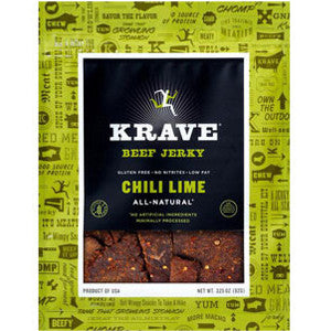 Krave Chili Lime Beef Jerky