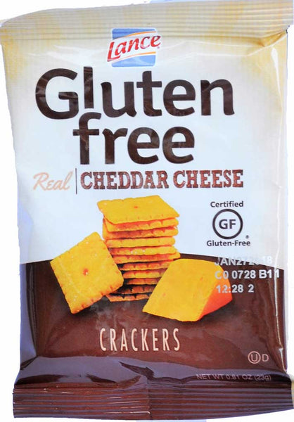 Lance Gluten Free Real Cheddar Cheese Crackers