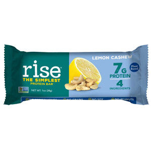 Rise Lemon Cashew Mini Protein Bar