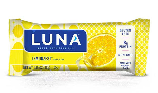 Luna Lemonzest Whole Nutritional Bar