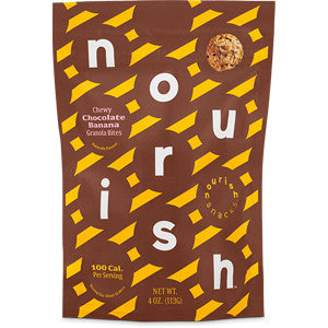 Nourish Snacks Chocolate Banana Granola Bites