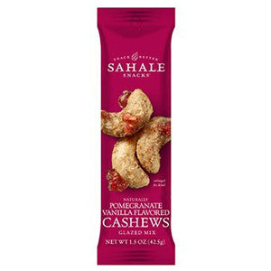 Sahale Snacks - Cashews with Pomegranate & Vanilla
