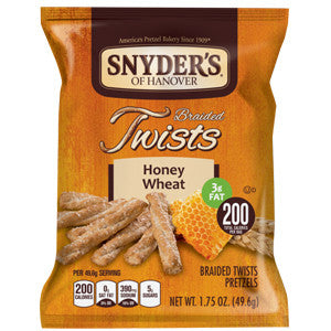 Snyder's of Hanover Honey Wheat Braided Twist