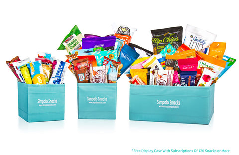 Weekly/Bi-Weekly Subscription - Variety Snack Box