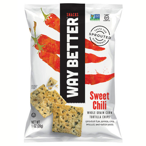 Way Better Snacks Sweet Chili Tortilla Chips