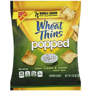 Wheat Thins Popped Sour Cream & Onion