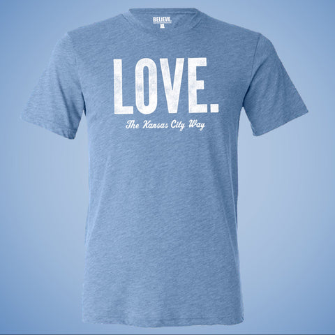 LOVE. The Kansas City Way | Powder Blue