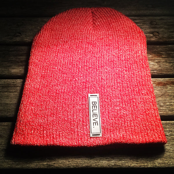 BELiEVE. Beanie | Red
