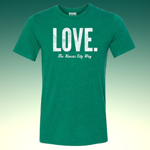 LOVE. The Kansas City Way | Vintage Green