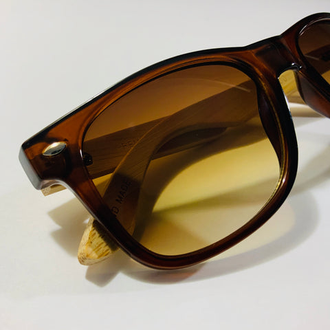 Bamboo Sunglasses | Translucent Brown