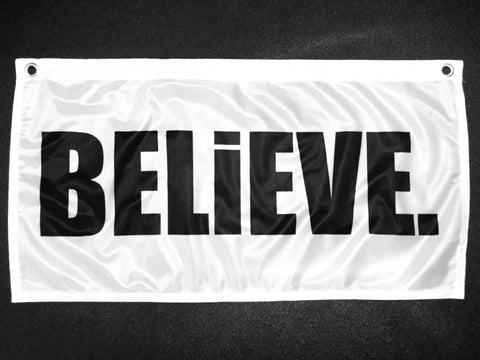 The BELiEVE. Flag