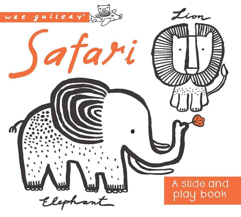 Safari Slide and Play Book
