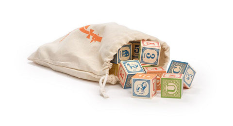 ABC Blocks with Bag