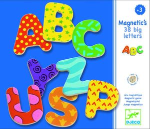 38 Big Letters Magnets