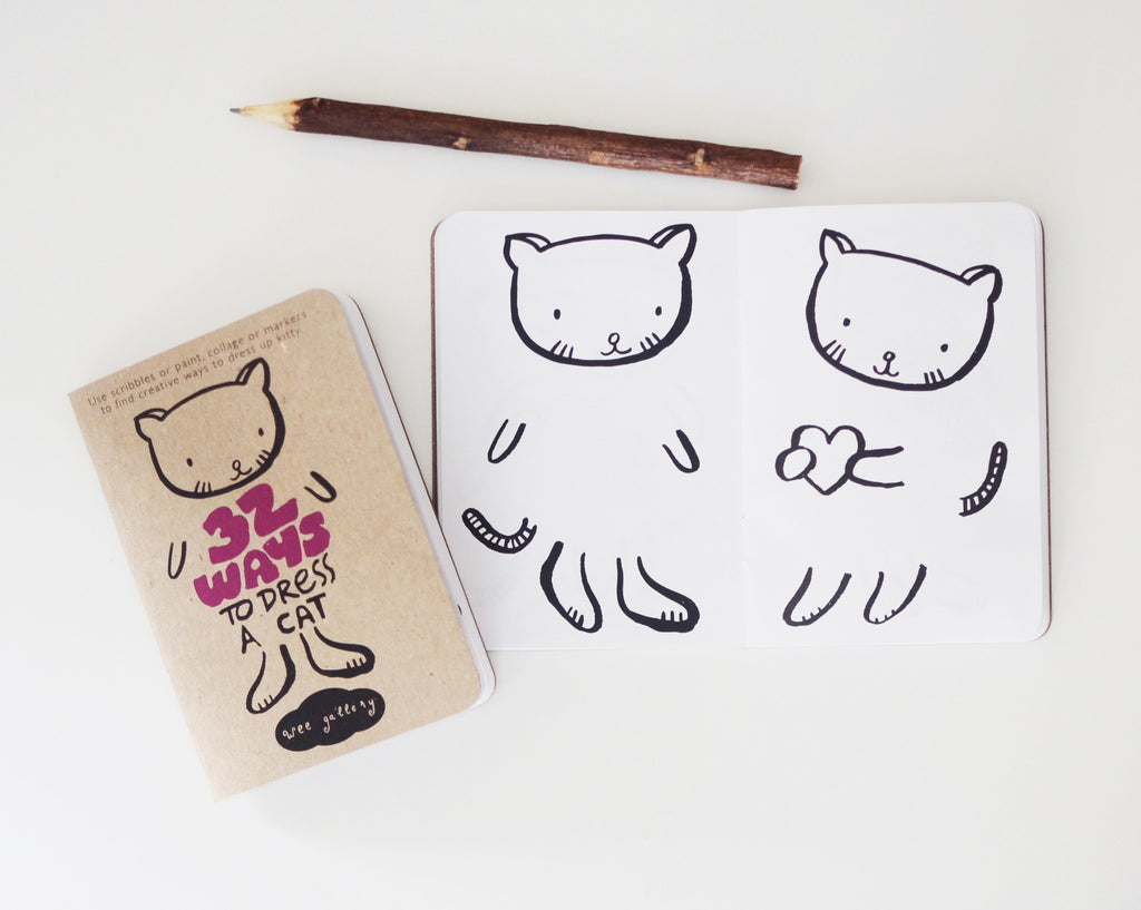 32 Ways to Dress an Animal Coloring Notebook