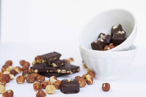 Hazelnut Almond Dark Chocolate
