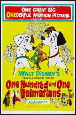 101 Dalmatians Movie Poster Puzzle 300 pcs Large - Fame Collectibles