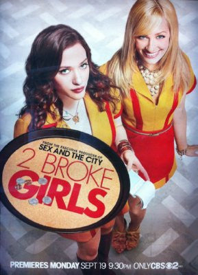 2 Broke Girls Puzzle Fun-Size 120 pcs - Fame Collectibles