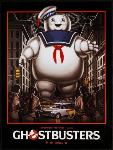 Ghostbusters Movie Poster Puzzle Fun-Size 120 pcs - Fame Collectibles
