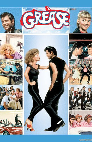 Grease Movie Poster Puzzle Fun-Size 120 pcs - Fame Collectibles