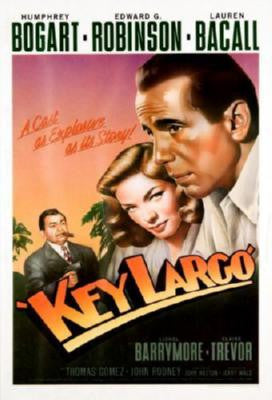 Key Largo Movie Poster Puzzle Fun-Size 120 pcs - Fame Collectibles