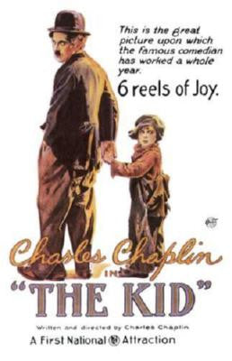 Kid The Charlie Chaplin Movie Poster Puzzle Fun-Size 120 pcs - Fame Collectibles
