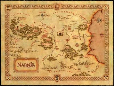 Narnia Map Puzzle Fun-Size 120 pcs - Fame Collectibles