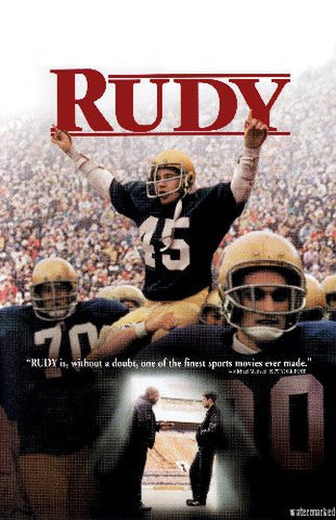 Rudy Mini Movie 8x10 photo - Fame Collectibles