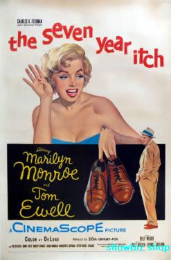 Seven Year Itch Movie Poster 24x36 - Fame Collectibles