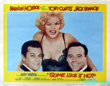 Some Like It Hot Movie Poster 24x36 - Fame Collectibles