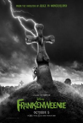 Frankenweenie Movie Poster Puzzle Fun-Size 120 pcs - Fame Collectibles