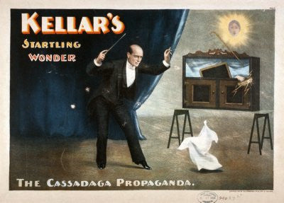 Magic 8x10 photo Kellar'S Startling Wonder - Fame Collectibles