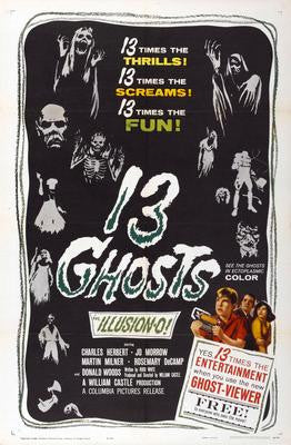 13 Ghosts Movie Poster Puzzle Fun-Size 120 pcs - Fame Collectibles