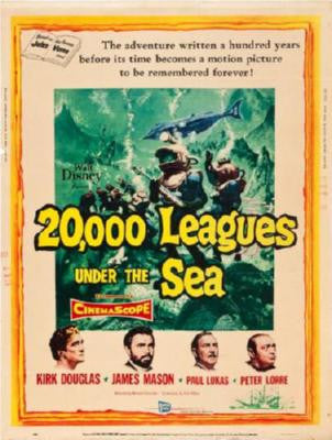 20000 Leagues Under The Sea Movie Poster Puzzle Fun-Size 120 pcs - Fame Collectibles