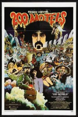 200 Motels Poster Frank Zappa 24inx36in - Fame Collectibles