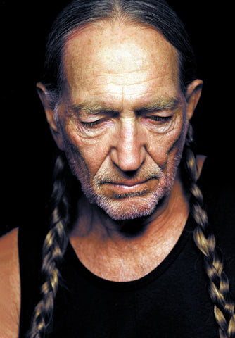 Willie Nelson Poster 24in x 36in - Fame Collectibles