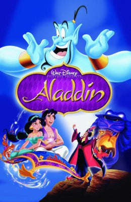 Aladdin Movie Poster Puzzle Fun-Size 120 pcs - Fame Collectibles