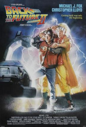 Back To The Future 2 Movie Poster 24x36 - Fame Collectibles