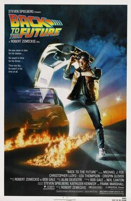 Back To The Future Movie Poster Puzzle 300 pcs Large - Fame Collectibles