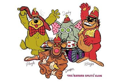 The Banana Splits Mouse Pad Mousepad Mouse mat - Fame Collectibles