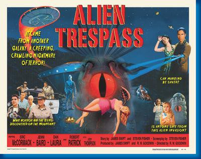 Alien Trespass Mouse Pad Mousepad Mouse mat - Fame Collectibles