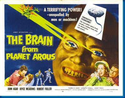 Brain From Planet Arous Mouse Pad Mousepad Mouse mat - Fame Collectibles