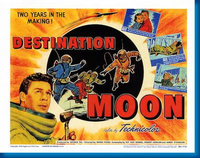 Destination Moon Movie Poster 24x36 - Fame Collectibles
