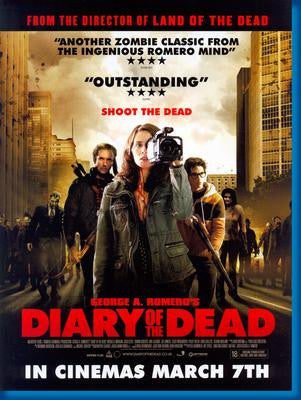 Diary Of The Dead Movie Poster 24x36 - Fame Collectibles