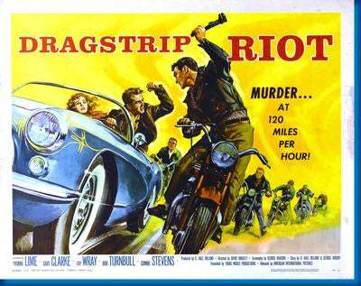 Dragstrip Riot Movie Poster 24x36 - Fame Collectibles