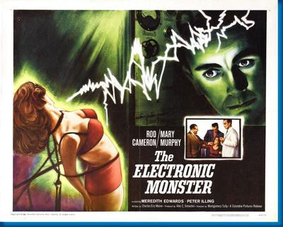 Electronic Monster The Movie Poster 24x36 - Fame Collectibles