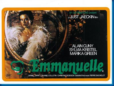 Emmanuelle Sylvia Kristel Movie Poster 24x36 - Fame Collectibles