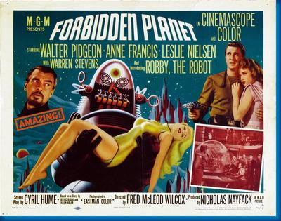 Forbidden Planet Hz Movie Poster 24x36 - Fame Collectibles